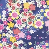 CHERRY BLOSSOM DISPLAY: Navy Blue (1/2 Yd.)