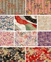 CHIYOGAMI: 10 Fat Quarters (2 1/2 Yards)