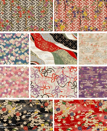 NEW!  CHIYOGAMI by Quilt Gate