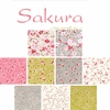 SAKURA: 3 Designs by Moda