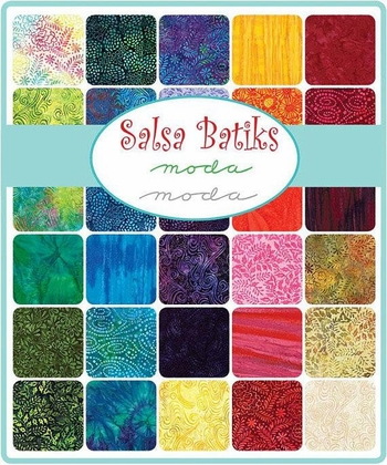 COMING SOON! SALSA BATIKS from Moda