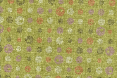 Contrasting Dots on Lime Green: Light Weight Cotton Dobby
