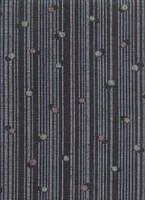 Dots and Stripes: Black Light Weight Cotton Dobby (1/2 Yd.)