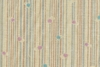 Dots and Stripes on Beige Light Weight Cotton Dobby (1/2 Yd)