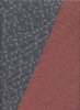 Double Sided Print: Slate Dragonfly/Red Wave Dots