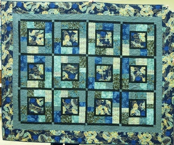 Dragon Quilt by Careen in BC, Canada