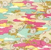EMAKI COLLECTION: Drifting Landscape - Pink/Gold Metallic (1/2 Yd)