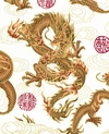 Fire-Breathing Dragons: White (BTY)