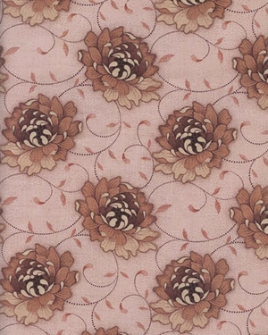 Flowers on a Vine I - Brown (BTY) - 45% OFF