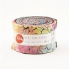 FULL SPECTRUM BATIKS: Jelly Roll - Set of 40 - 2 1/2� x WOF