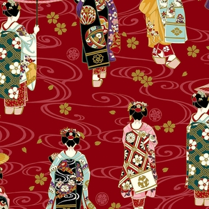 GEISHA: Maiko Collection - Red Dobby