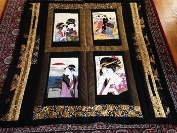 Geisha Panel Quilt by Ramona in Potomac, MD