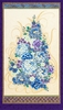 "IMPERIAL 13: Jewel Floral Bouquet Panel (24"" x 44"")"