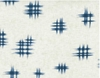 INDIGO SUMMER: Cream Cross Hatch (1/2 Yd.)