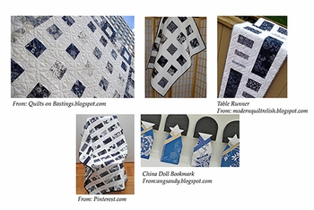 Indigo Asian Japanese Fabrics