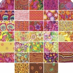 Kaffe Fassett Sunshine Charms: 42 Pieces – 5 Inch Squares