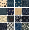 KASURI: 16 Fat Quarter Collection AB (4 Yards)