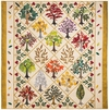 """""""Leafy Ladies"""" Quilt by Carole in Wilmette, IL"""