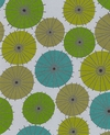 Modern Parasols: Tonal Green (By the Half Yard)