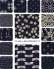 NEW! NARA HOMESPUN COLLECTION: 14 Indigo Designs
