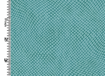 NEW! SHIBORI DOTS: Light Teal