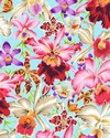 Orchids - Kaffe Fassett Collective - Blue