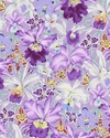 Orchids - Kaffe Fassett Collective - Purple