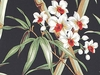 BARKCLOTH ORCHIDS & BAMBOO: Upholstery/Home Dec (BTY:)