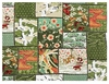 PATCHWORK OF ASIAN DESIGNS: Green (By the Half Yd)