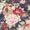 PEONIES: Maiko Collection - Purple (By the Half Yard)