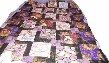Purple Delight!! Quilt by Lois in Ottawa, Canada