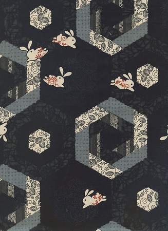 Rabbits & Hexagons: Black