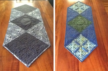 Reversible Table Runner by Patty in HI