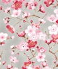 SAKURA: Cherry Blossoms - Ash (1/2 Yard)