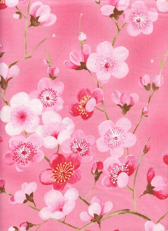 SAKURA: Cherry Blossoms - Petal (1/2 Yard)