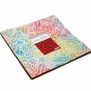 "SALSA BATIKS: Layer Cake Pack - Set of 42 - 10 X 10"" Squares"
