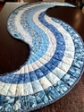 Spiral Table Runner by Yolanda in Quebec, Canada
