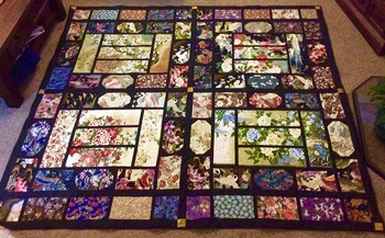 """""""Summer Palace"""" Quilt by Afra in Australia"""