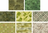TAUPE LOVERS COLLECTION: GREEN - 8 Fat Quarters (2 Yds)