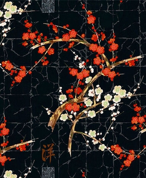 The Beauty of Cherry Blossoms: Black