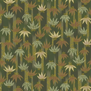 TORA COLLECTION: Green Bamboo Clusters