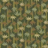 TORA COLLECTION: Green Bamboo Clusters (1/2 Yd.)