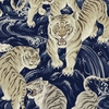 TORA COLLECTION: White Tigers - By the Yard