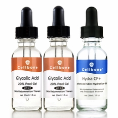 Glycolic 20% Peel pH2.1/2.6 + Hydra CP+