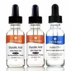 Glycolic Acid 30% Peel pH2.1/2.6 + Hydra CP+