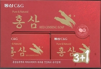 C & G Red Ginseng Soap Gift Set A