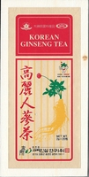 Korean Ginseng Tea X