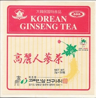 Korean Ginseng Tea Y