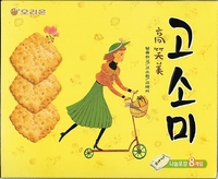 Korean Premium Biscuit Gosomi Family Pack Q