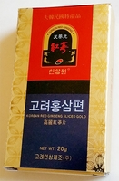 Korean Red Ginseng Sliced Gold A